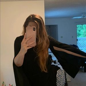 Zara Dresses - Zara cape dress